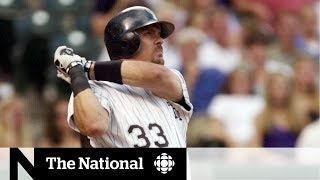Canada's Larry Walker headed to the Baseball Hall of Fame
