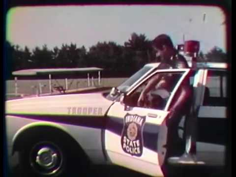 Indiana State Police - 8.1986 - There Is No Substitute, 16mm Film Transfer