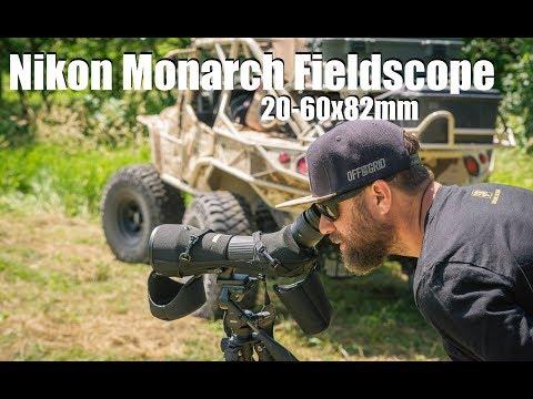 Nikon Monarch SPOTTING SCOPE 20-60x82mm REVIEW