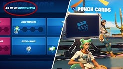How to Unlock All 49 Punchcards in Fortnite Chapter 2 Season 3 - Complete Punchcard Guide