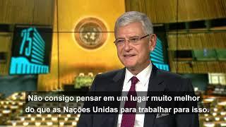 Novo presidente da Assembleia Geral diz que é hora de união