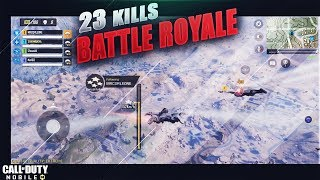 Call of Duty Mobile Battle Royale First Gameplay Ultra 60 Fps ! 23 kill Win