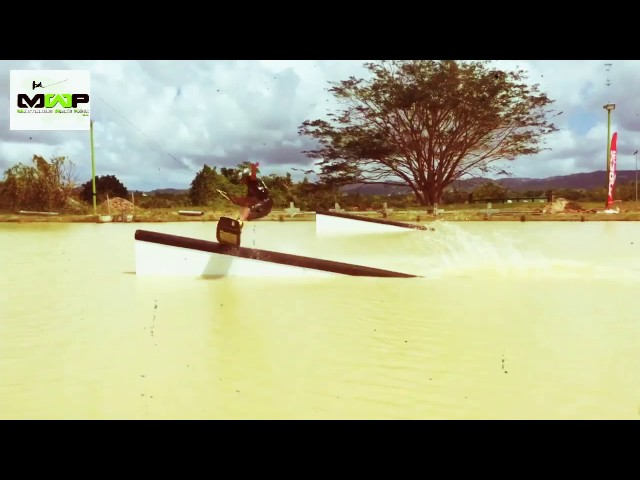 Martinique Wake Park / Wakeboard / Manikou session