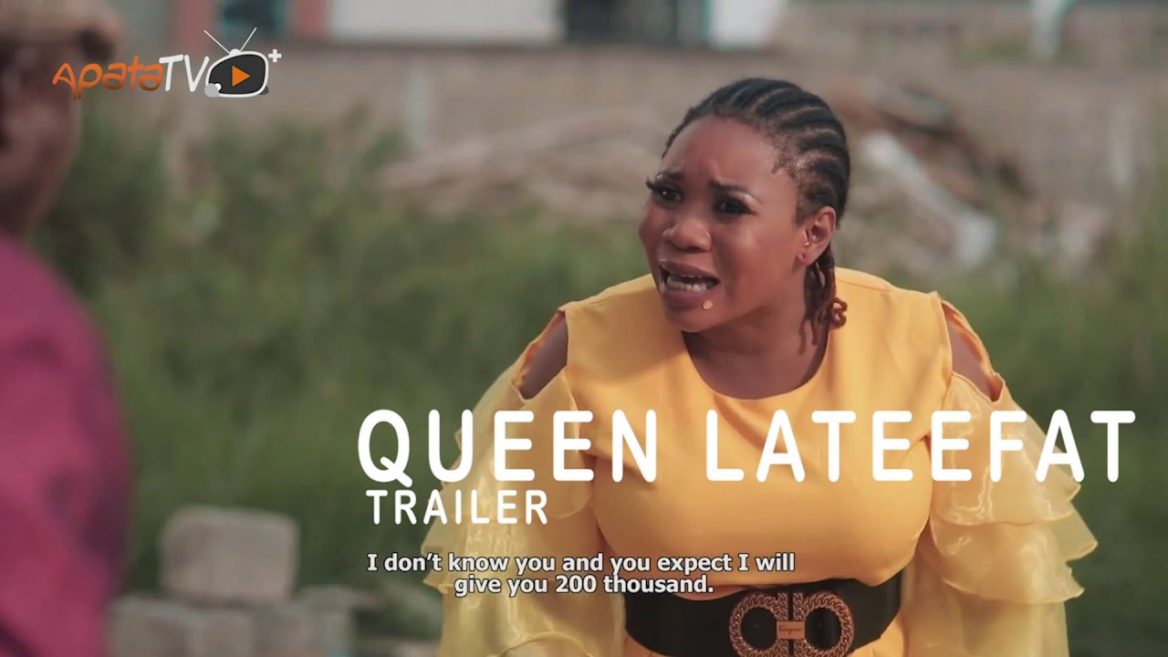 Download Wunmi Toriola Cancels Deal With Sanyeri - Queen Lateefat Yoruba Movie Now Showing