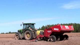 Технология обработки почвы и посадки картофеля