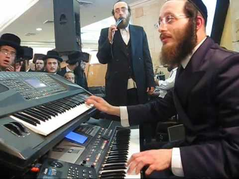 Arale Samet at a Wedding in Israel