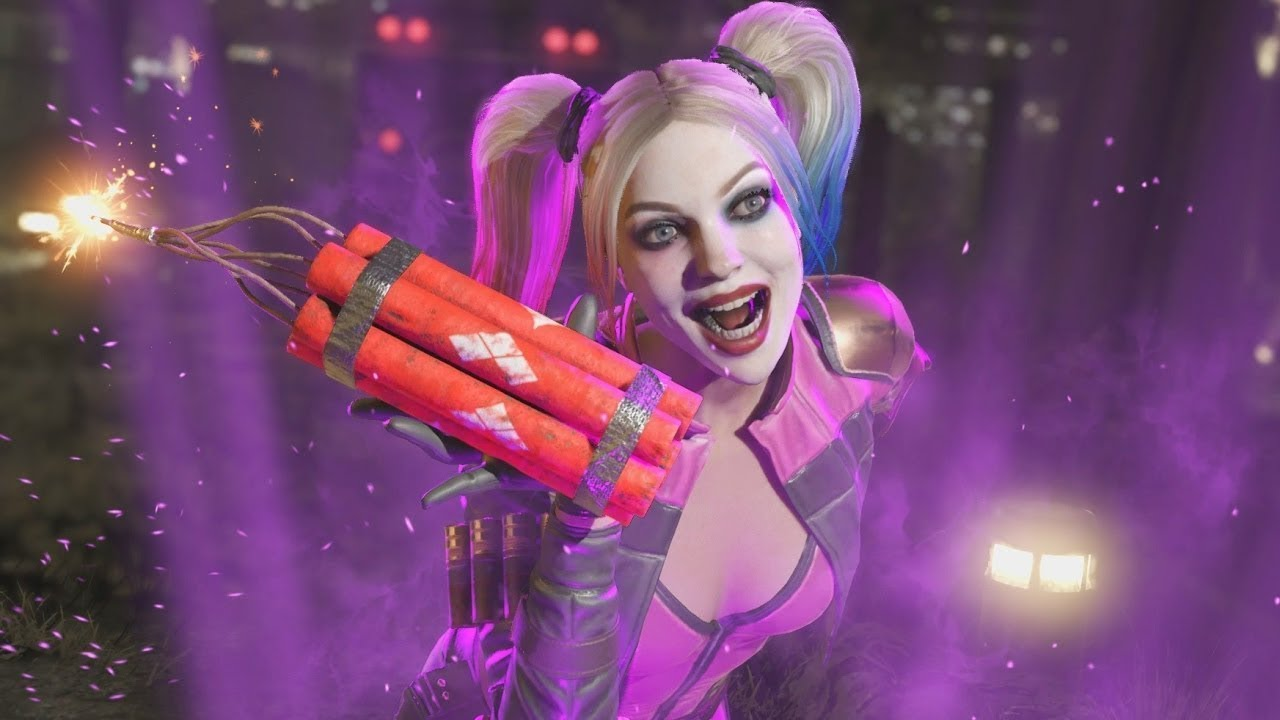 Injustice 2 - Harley Quinn Moves List, Combos and