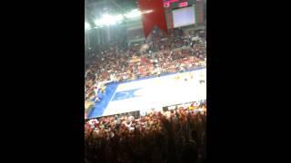 GALATASARAY fenrbahçe basketbol maçı 09.12.2013 abdi ipekçi 3lü
