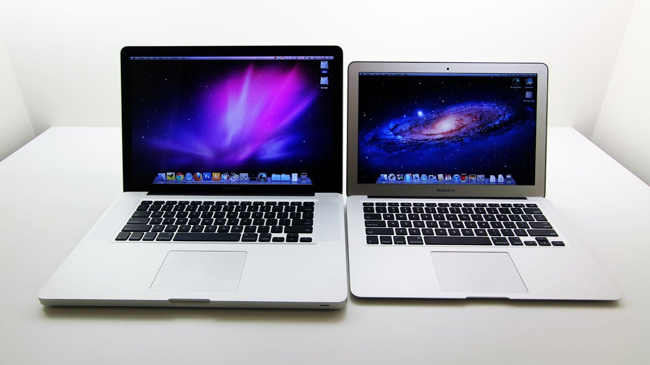macbook air core i5 vs macbook pro core i7 quad 2011 youtube. Black Bedroom Furniture Sets. Home Design Ideas