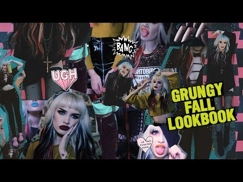 GRUNGE FALL LOOKBOOK 2017 | atleeeey