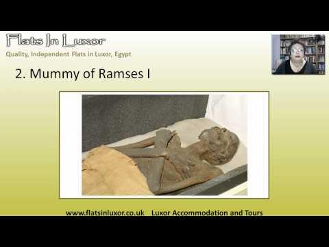 Top 3 Exhibits in Luxor Museum