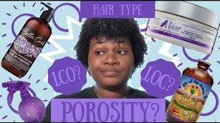 Learning Natural Hair - Porosity, Density, Hair Type, Hair Width