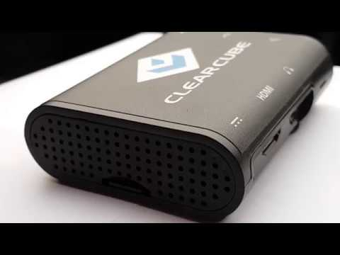 ClearCube Raspberry C3Pi+ Thin Client for High-Performance VDI