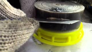 видео Топливный фильтр дизеля зимой