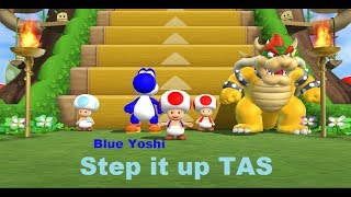 Mario Party 9 - Step it up [TAS] [Featuring Blue Yoshi]