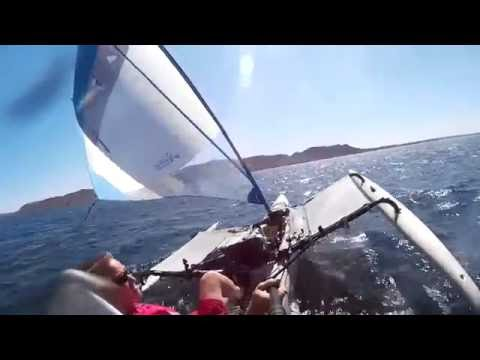 Sailing fast,  Lake Pleasant Arizona 05222016