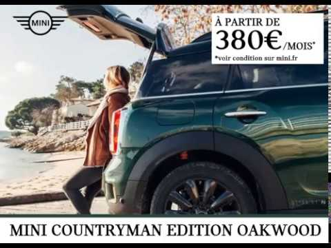Mini Countryman Edition Oakwood Tarbes Youtube