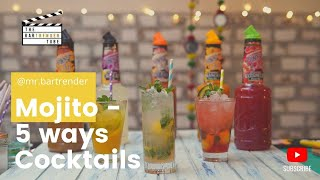How to make a Mojito + 5 summer fruity twists | The BarTrender Tube
