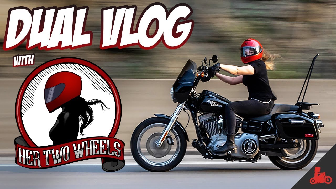 Dual Vlog with HER TWO WHEELS! (Q&A - Part 1)