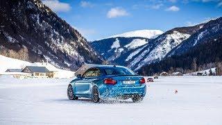 Driftování v Lungau s BMW M2 a Subaru BRZ, 13.2.2019