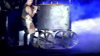 Rammstein - Mein Teil - Arena Riga 2012.02.07 (part 6) [HD 720p]