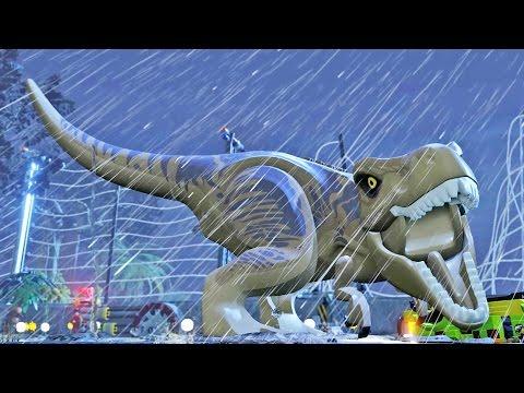 Lego Jurassic World All Cutscenes Gameplay