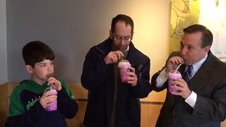 Starbucks Unicorn drink taste test