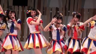 2014年8月2日 AKB48チーム8、アオーレ長岡にて。 「くれにゃん」こと長...