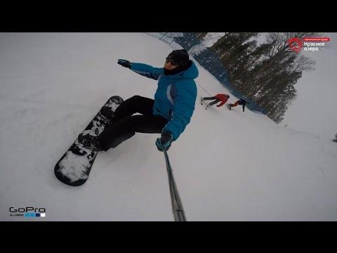 Горнолыжный курорт Красное озеро 2016 (Ленинградская область, сноуборд, лыжи)