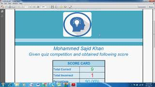 Incredible Excel based Quiz -  EZ Quiz Master