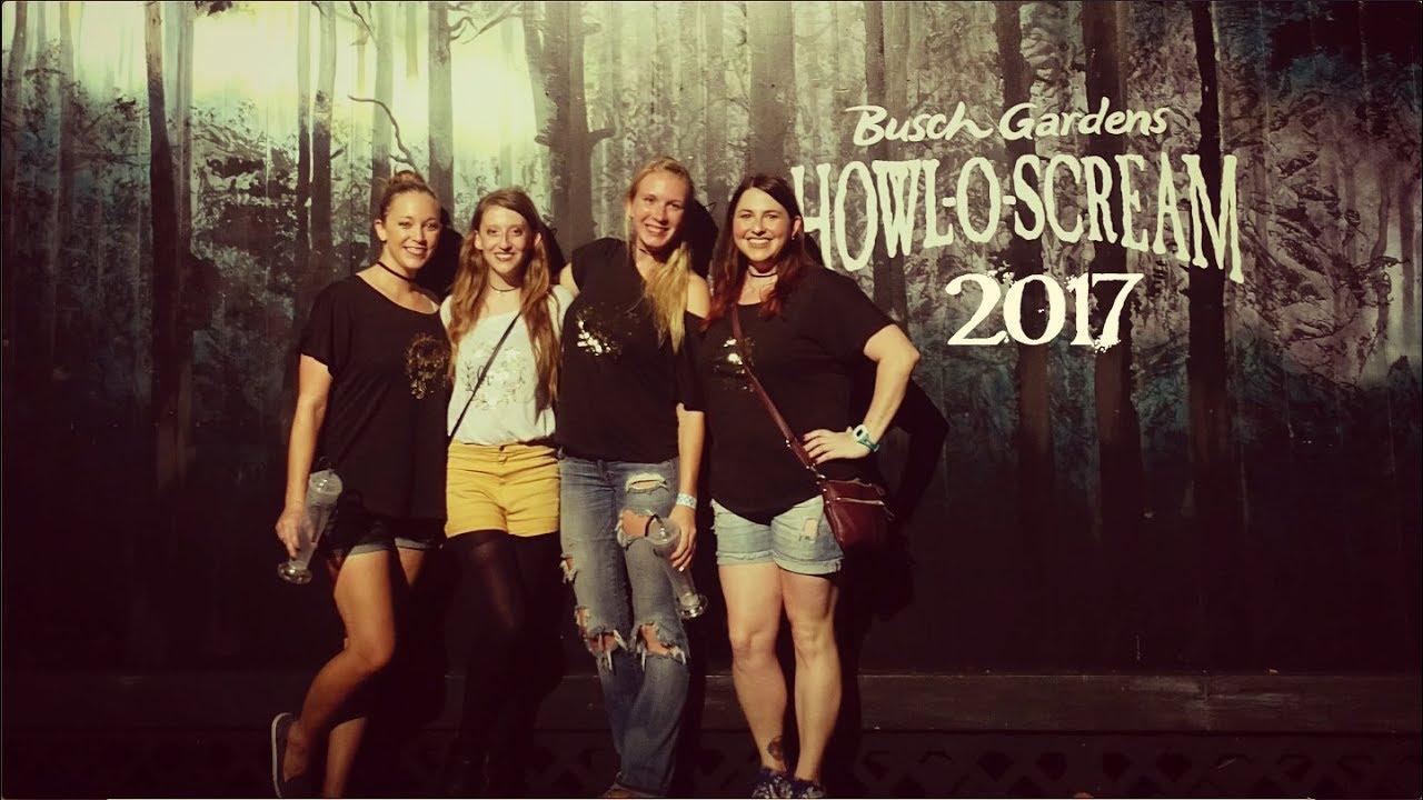 Howl O Scream 2017 At Busch Gardens Tampa Youtube