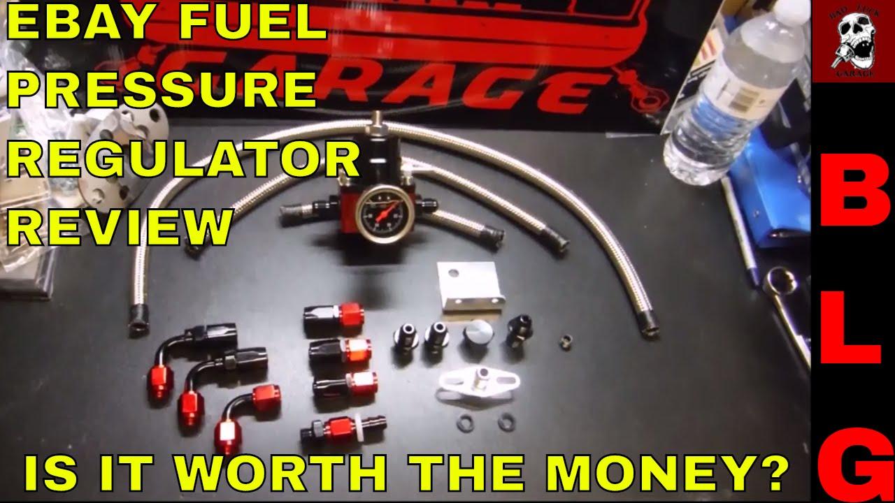 ebay fuel pressure regulator installation and review