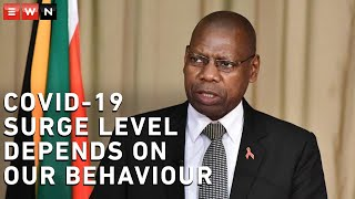 Health Minister Zweli Mkhize spoke at a media briefing that addressed the latest lockdown amendments that President Cyril Ramaphosa announced on Sunday 12 July 2020.  #CoronavirusSA #COVID19