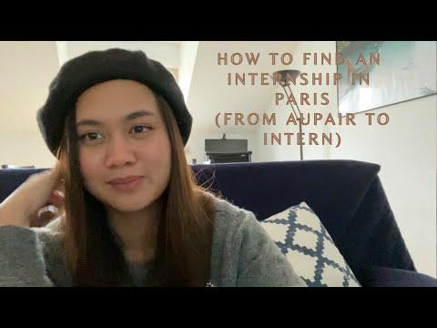 How to find an Internship in France (Filipina Aupair to Intern)