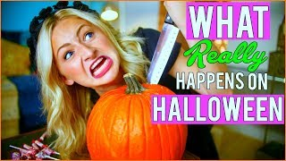 What REALLY Happens on Halloween!! w/ Kalista Elaine