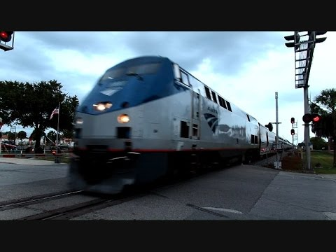 Thumbnail: Amtrak Silver Star Daytime Coming Nighttime Going