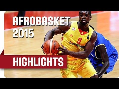 Cameroon v Gabon - Game Highlights - Group C - AfroBasket 2015
