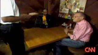 Larry King, Snoop Dogg At Roscoe's