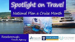 Spotlight on Travel: National Plan a Cruise Month!
