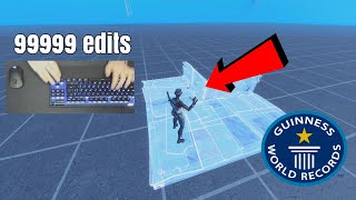 I Broke a Fortnite EDIT World Record... (not clickbait)