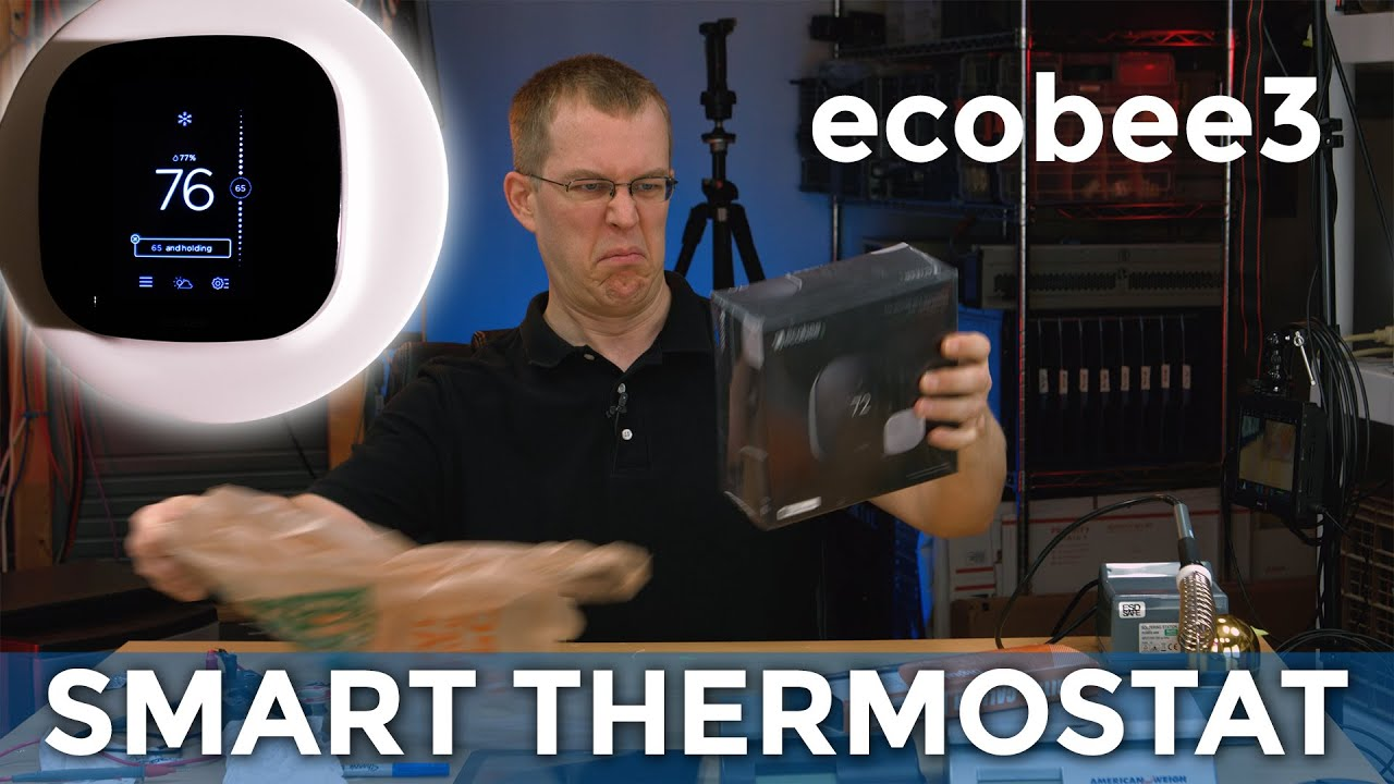 Ecobee3 Smart Thermostat Installation Review And Wiring Discussion Ecobee Aprilaire 600 Diagram