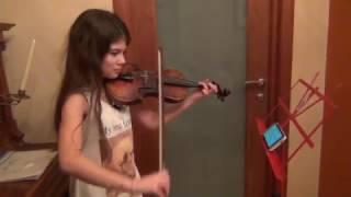 "Тема из сериала ""Шерлок"" на скрипке"