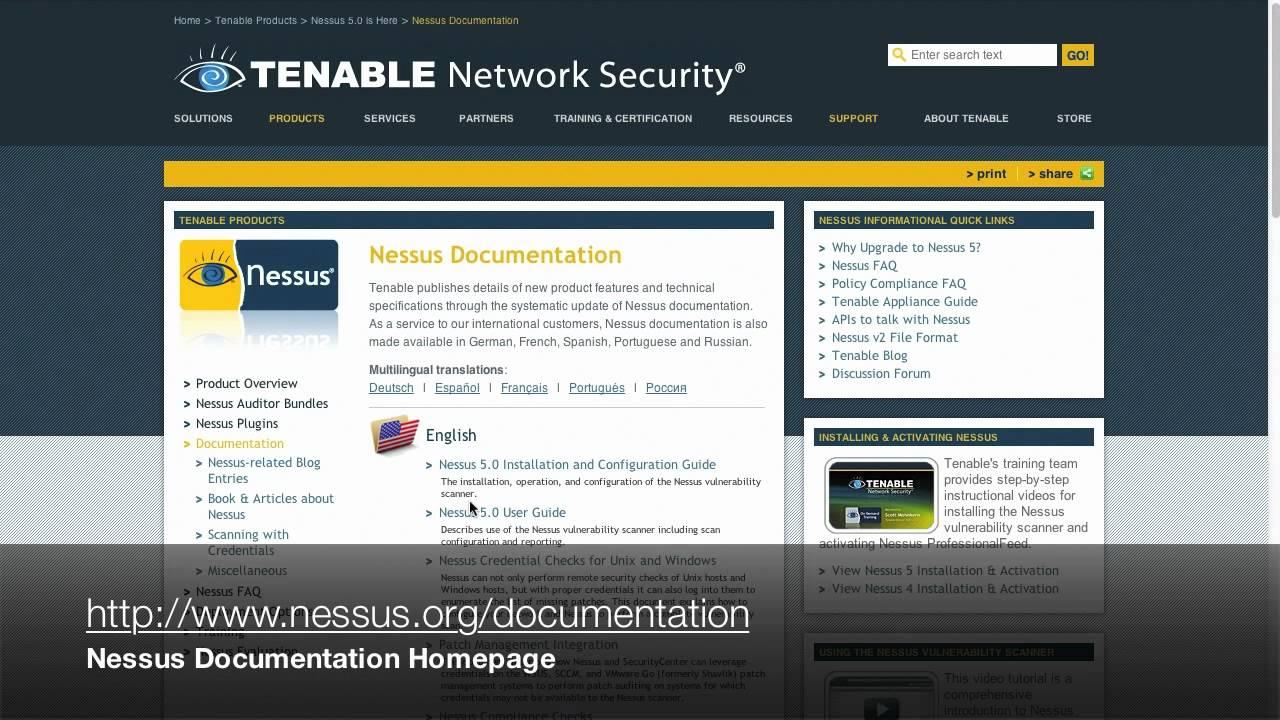 Nessus Installation & Configuration