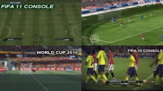FIFA 11 CONSOLE Vs  PC