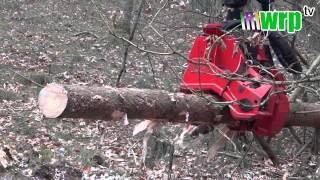 Agro-Las - prezentacja pracy maszyny leśnej