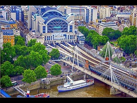 A Walk Around London's Charing Cross Railway Station