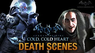 "Batman: Arkham Origins - ""Cold, Cold Heart"" Game Over Death Scenes"