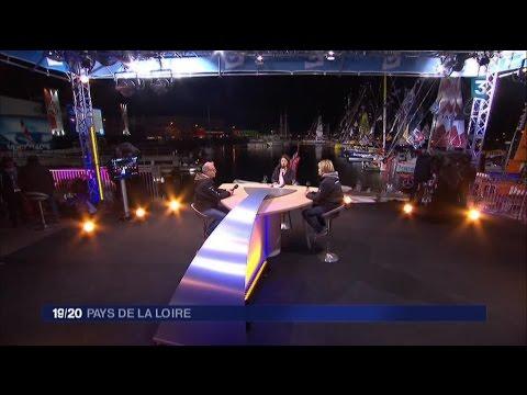 Vendée Globe 2016 : J-2 Edition spéciale 19/20 du journal télévisé au Sables d'Olonne