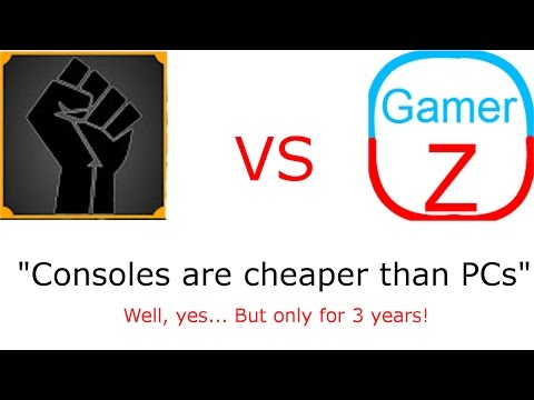 CultOfMush claims Console is the cheaper option. He's Wrong.