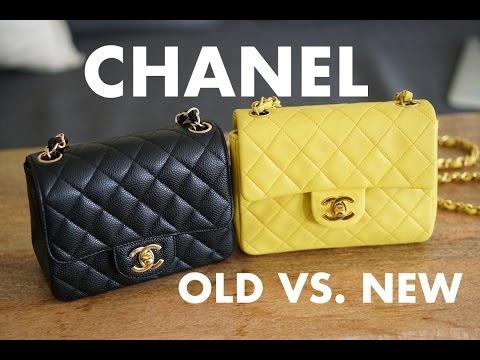 3e86d6b0a54f Chanel Square Mini Comparison | What's in my Chanel Square Mini ...